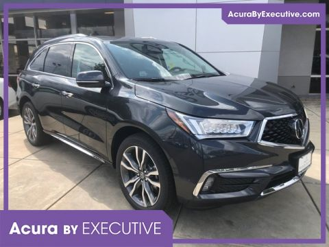 New 2019 Acura MDX SH-AWD with Advance and Entertainment Package